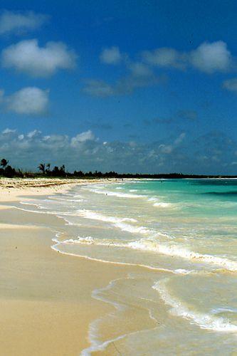 Praia de Carmen, México, a 70 km de Cancún, na direção sul, ostenta a vantagem…