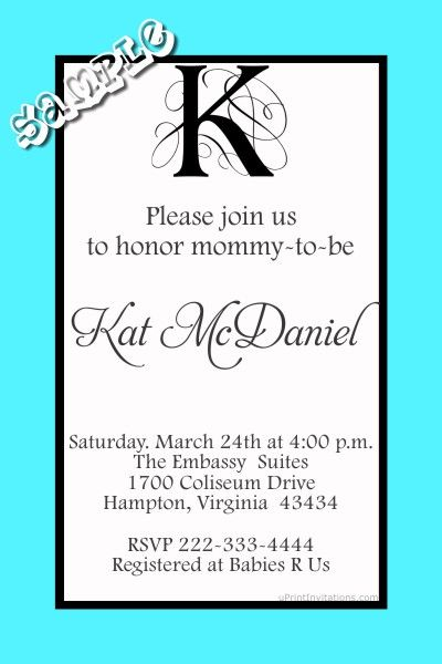 505 best Baby Shower Invitations images on Pinterest Invitations - baby shower invitation letter