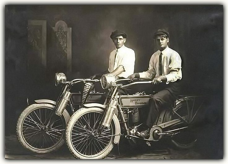 William S. Harley and Arthur Davidson  American motorcycle manufacturers. Founded in Milwaukee, Wisconsin during the first decade of the 20th century, Harley-Davidson [founded 1903] was one of two major American motorcycle manufacturers (Indian being the other) to survive the Great Depression. Harley-Davidson also survived a period of poor quality control and competition from Japanese manufacturers.