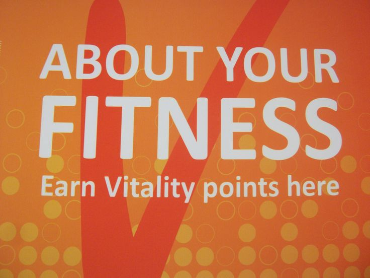 Fitness assessment - Medical schemes Vitality, Multiply