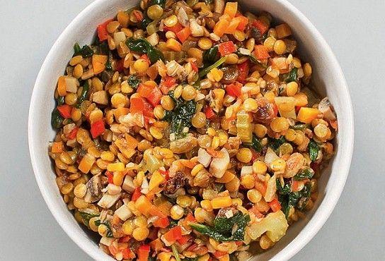 Чечевица с овощами, пошаговый рецепт с фотографиями – марокканская кухня, низкокалорийная еда: закуски. «Афиша-Еда»