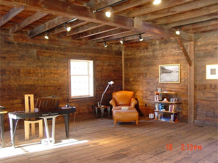 Barn Garage Interior : Images about restored old barns interior on