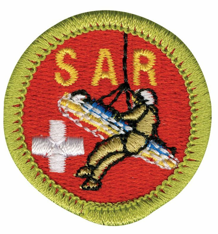 search and rescue badge from the Boy Scouts of America | Search ...