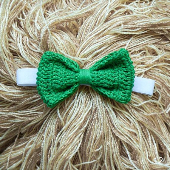 crocheted bow tie от FifkinDim на Etsy