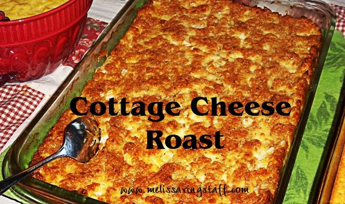 Delicious! Cottage Cheese Roast - otherwise known as Special K Loaf