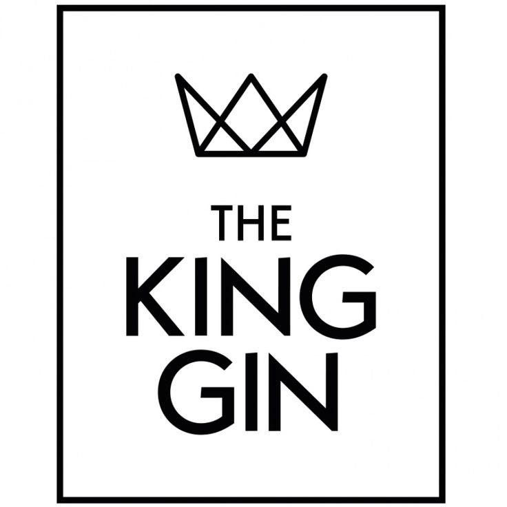 The King Gin - Logo Design - by Corporate Creation