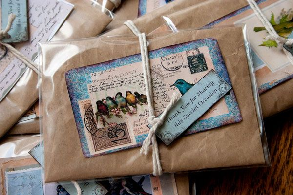 Flower seeds for spring baby shower