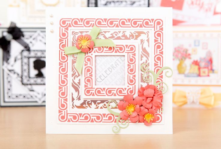 Craft gorgeous cards with the @tonicstudiosuk  Greek Temple and English Picnic Layering Die Collection! / cardmaking / papercraft / scrapbooking