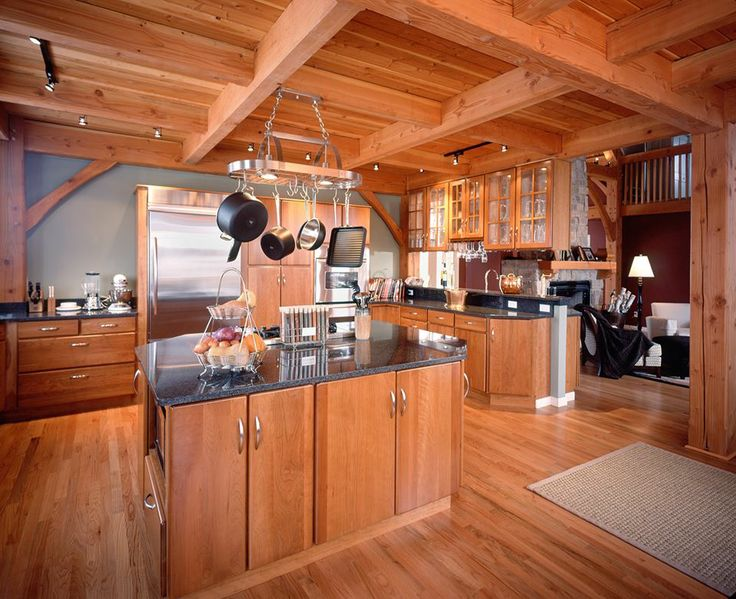 43 best timber home kitchens images on pinterest | timber frames