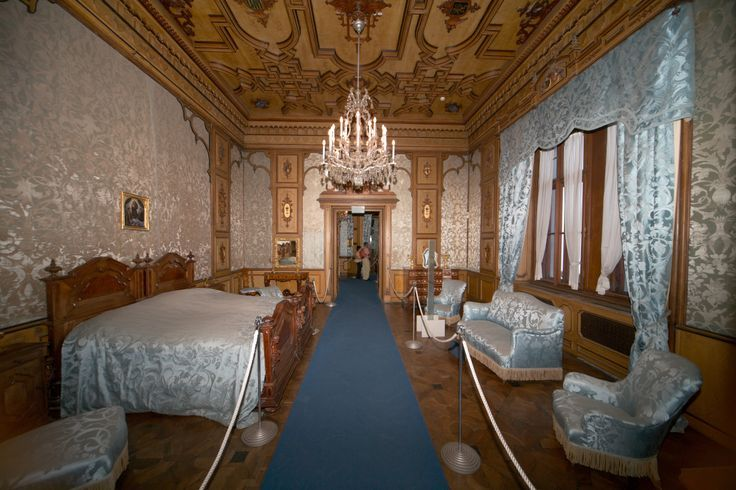 Miramare Castle Interior Spain Belle S Bedroom Places