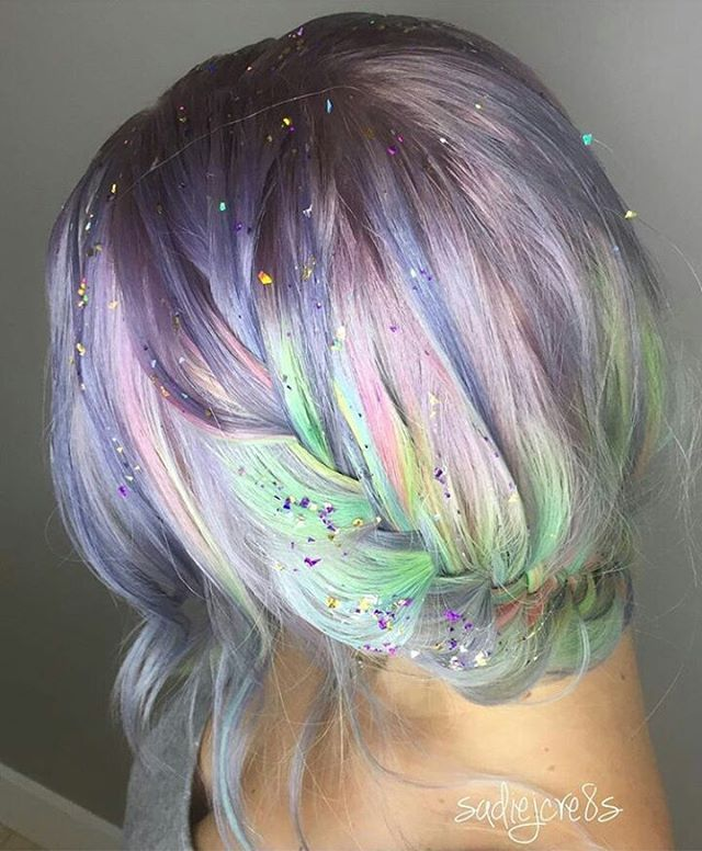 UNICORN TRIBE MEMBER @sadiejcre8s created this beautiful Opal Glimmer using @sparkscolor #unicorntribe to be featured!