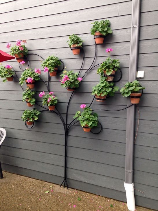 """20 beautiful gardening ideas with """"clay pots"""" that can be made in various styles"""