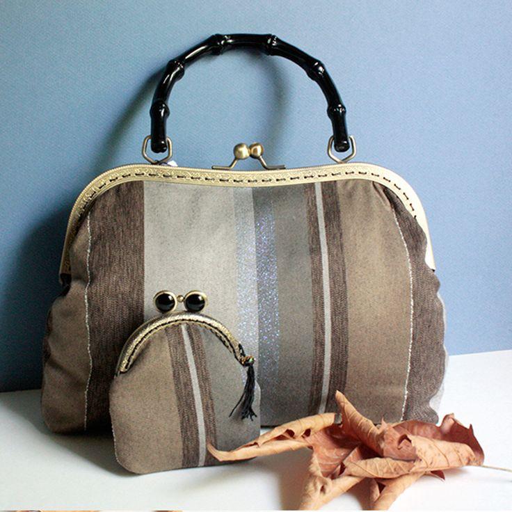 Retro Bag autumn winter handbag wool handamade