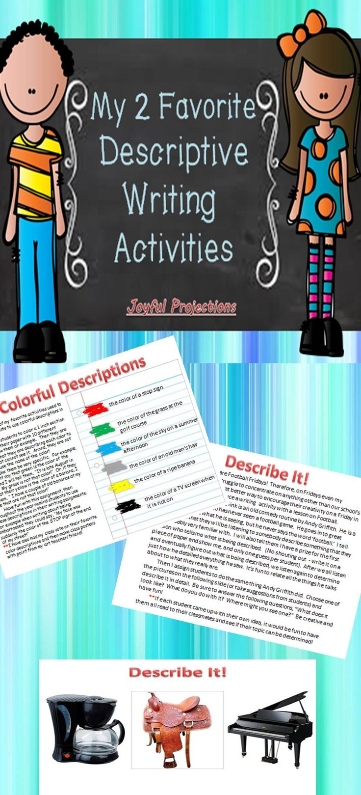 descriptive writing activities Descriptive writing worksheets english lessons for kids - videos, printables, games, online tests teach kids with an engaging blended english program a multi-level.
