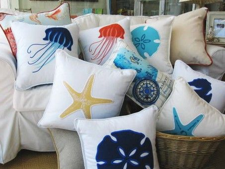 Thought you might like these pillows! @Melanie Raper Philips