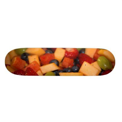 Fruit Salad Photo Skateboard - photography gifts diy custom unique special