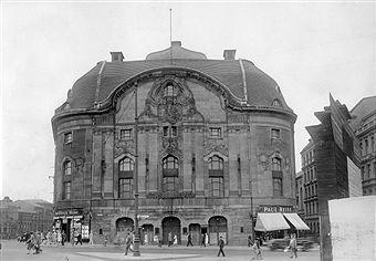 """Berlin-Mitte 1929 Die """"alte"""" Komische Oper in der Friedrichstrasse"""