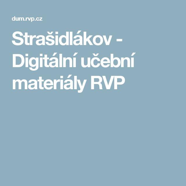 Strašidlákov - Digitální učební materiály RVP
