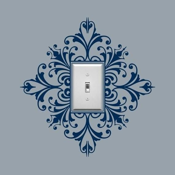 Light switch stencil
