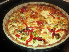 En verden af smag!: Fedtfattig Kyllingetærte med Peberfrugt