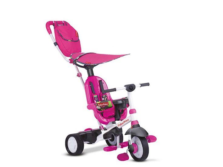 Charisma è il triciclo 3 in 1 di Fisher Price comodo e funzionale per bambini dai 10 ai 36 mesi. Il triciclo può essere utilizzato come triciclo a spinta e come triciclo indipendente, seguendo le diverse fasi di crescita del bambino. Disponibile in verde, rosa e rosso. Vieni a scoprirlo sul nostro sito. Distribuito in esclusiva da Real Baby Distribuzione!