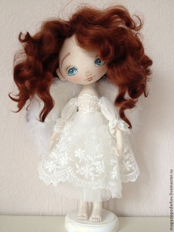 Коллекционные куклы ручной работы. Ярмарка Мастеров - ручная работа Кукла Рыжий Ангел. Handmade.