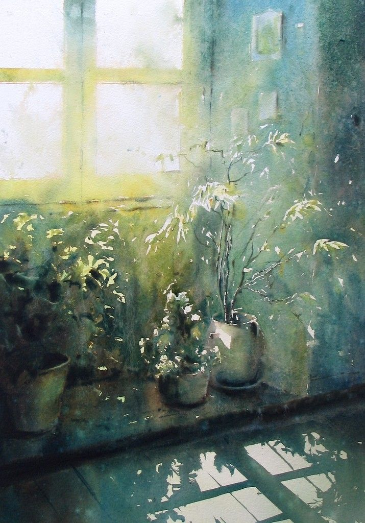 Galerie - Site de david chauvin...Love the light in this painting