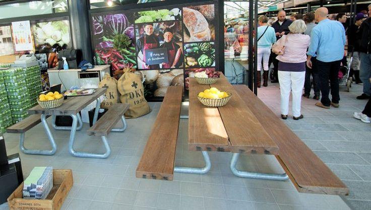THORS Omega outdoor dining set #outdoordining #reclaimedwood #patiofurniture