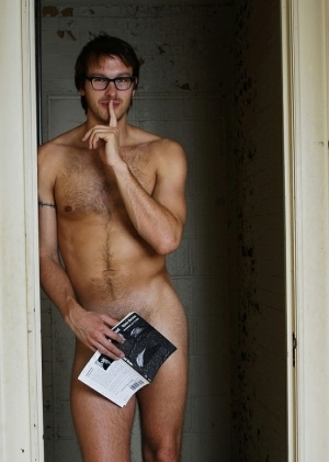 sexy naked male nerds