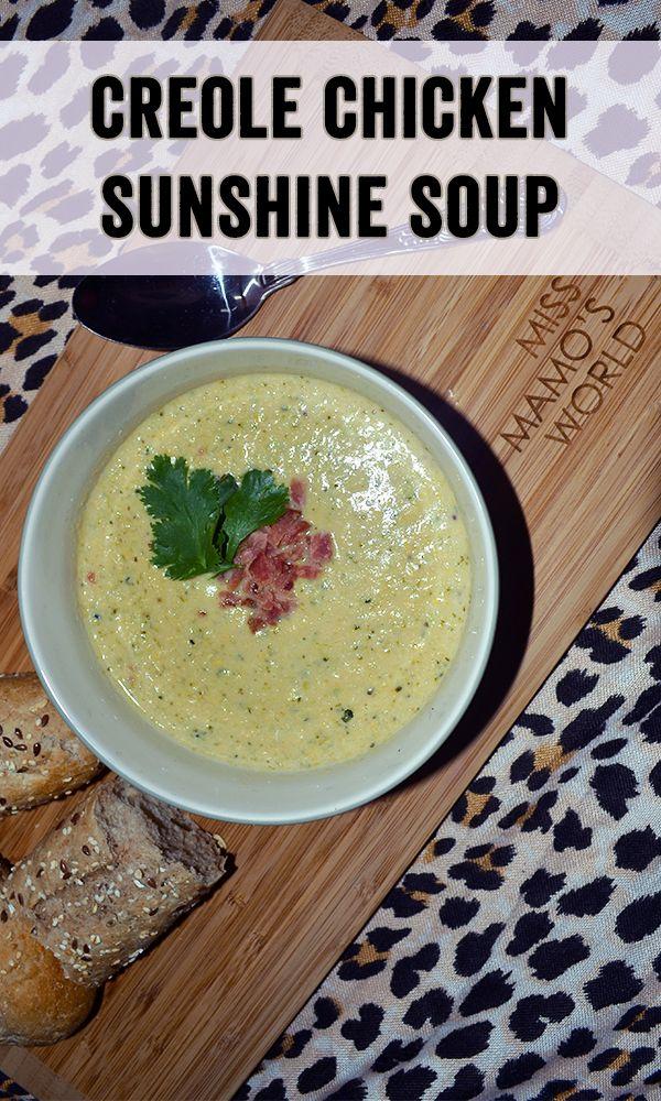Creole Chicken Sunshine Soup