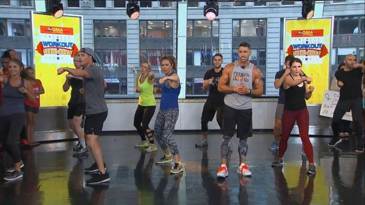 'Workout Wednesday' on 'GMA': Celebrity Trainer Noah Neiman Leads a Live-Stream Workout - Yahoo