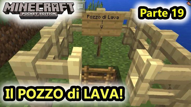 Minecraft PE - Il POZZO di LAVA e download mappa! - Android - (Salvo Pim...