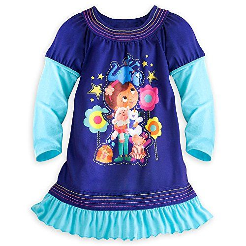 Disney Store Doc McStuffins Healing Heart Nightshirt, Blue, 5-6 Disney