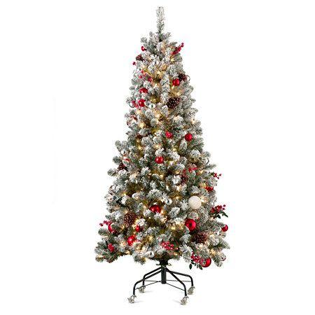 6' Pre-Decorated Christmas Tree