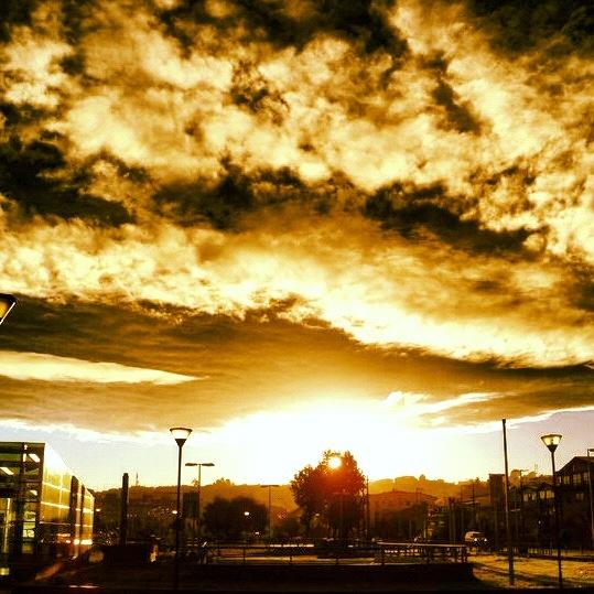 Cielo de puerto Montt