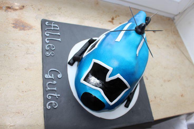 Hubschrauber Kuchen