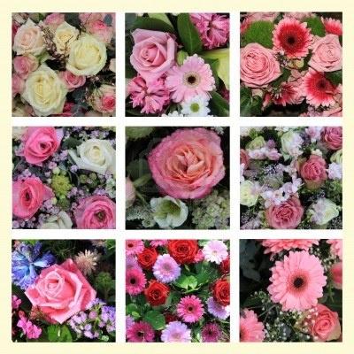 roze bloemstukken - Google zoeken