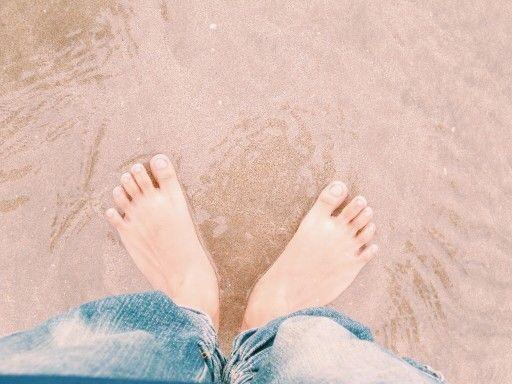Feeling sand