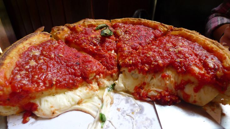 chicago style pizza 3 essay Chicago deep dish pizza 2 pack the legend gino's east traditional chicago style deep dish pan pizza with their famous golden crust, chunky tomato sauce, oozing with real aged cheese.