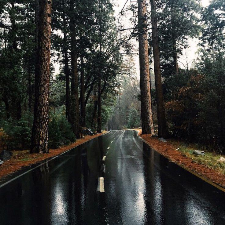 Minus the wet roads...