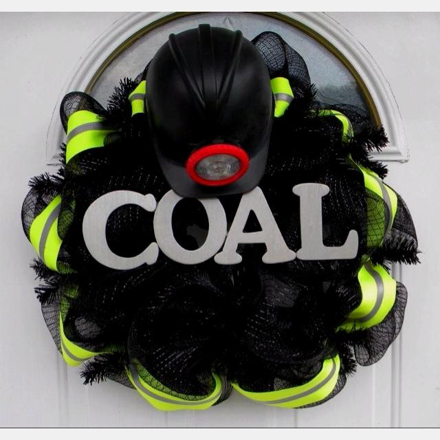 Coal Mining Wreath Mick S Pinterest Chang E 3 Aunt