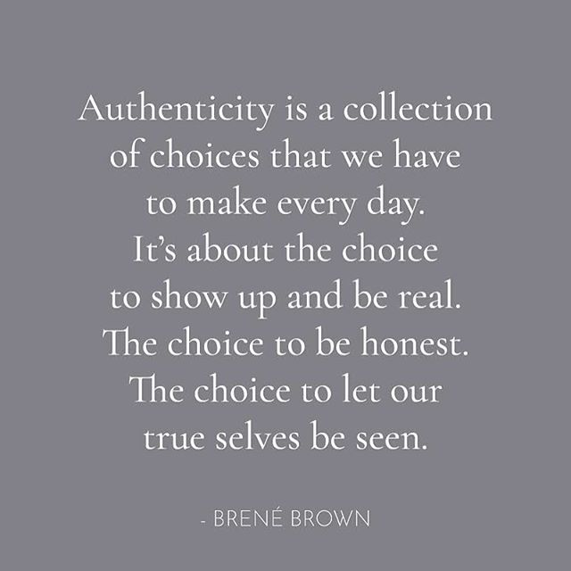 #quoteoftheday #thatsdarling #authentic #brenebrown #flashesofdelight #thehappynow