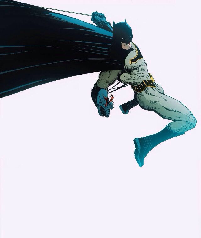 "Batman by Greg Capullo. Capullo is a god among Batman comic artists. In my opinion, he is the absolute best. Not many other artists show Bruce's ""human"" side as well as he can."
