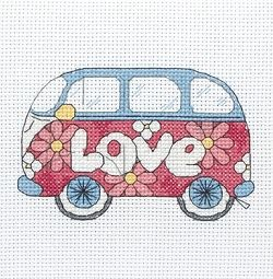 Camper Van Cross Stitch Kit PCE210