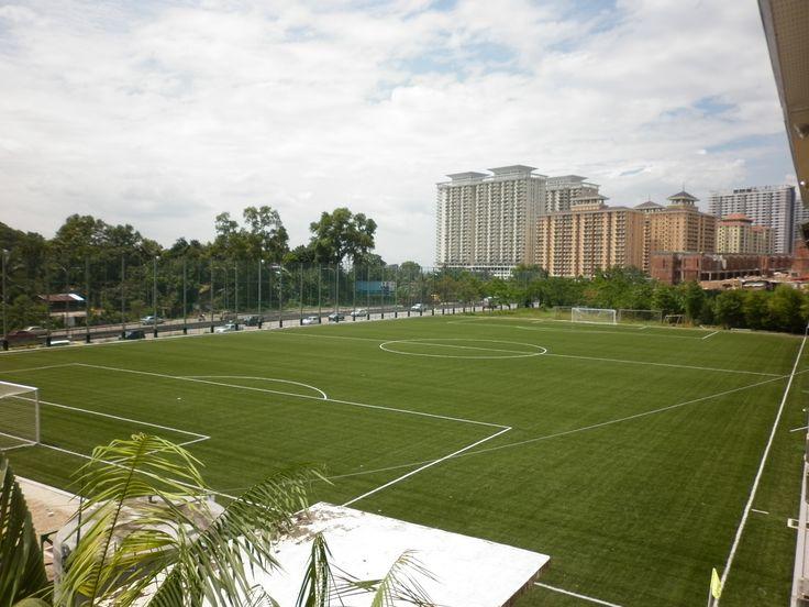 Act Global #football pitch at Kuala Lumpur Football Association, Malaysia. #syntheticturf #soccer