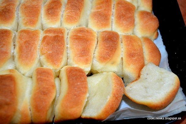 Dukátové buchtičky s vanilkovým pudingom (fotorecept) - obrázok 7
