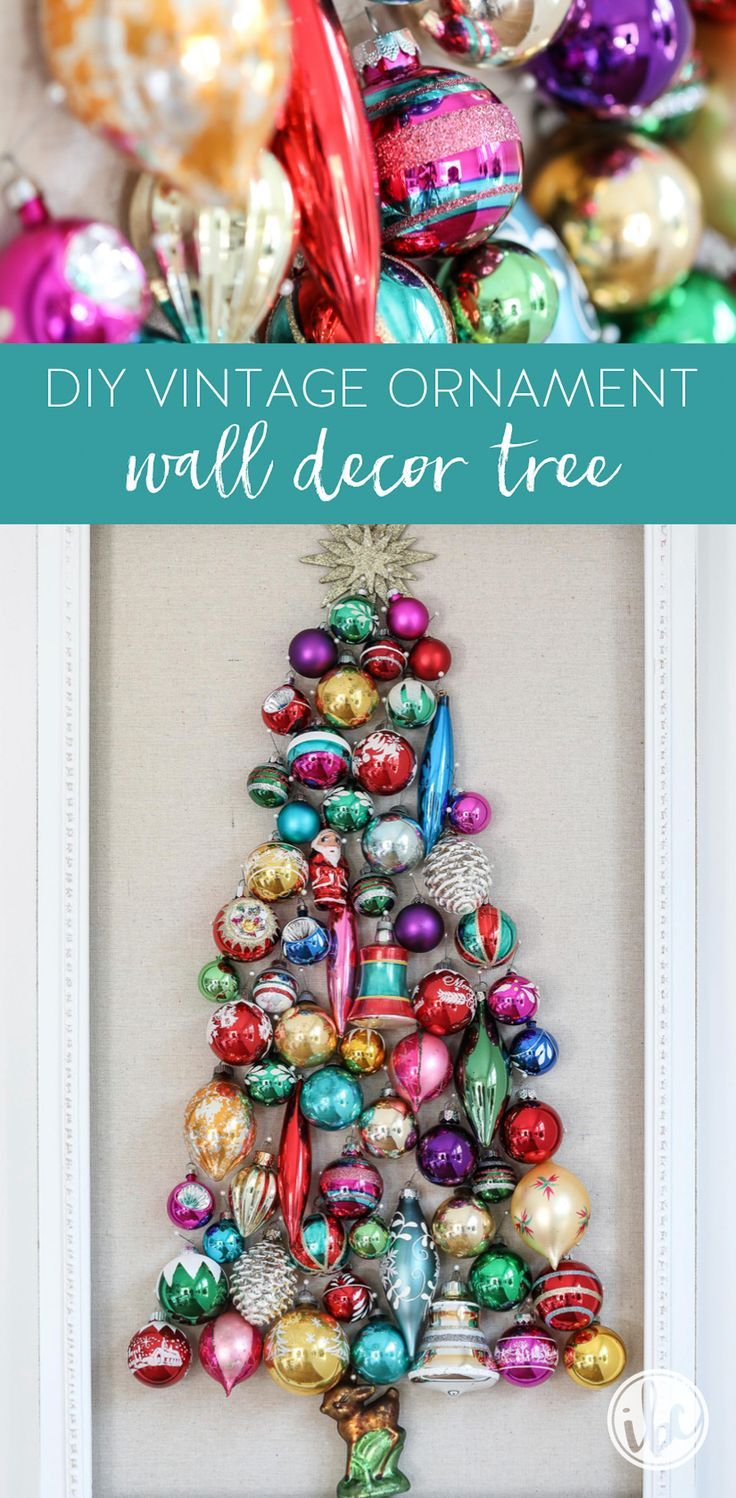 Inspired By Charm With Michael Wurm Jr Inspiredbycharm On Pinterest Vintage Ornaments Diy Vintage Tree Wall Decor