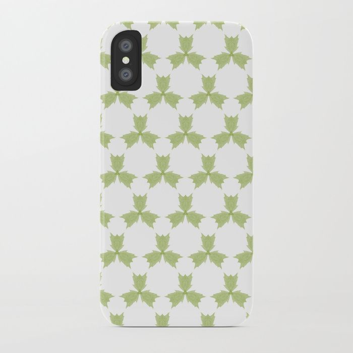 Protect your iPhone with a one-piece, impact resistant, flexible plastic hard case featuring an extremely slim profile. Simply snap the case onto your iPhone for solid protection and direct access to all device features. three, leaves, green, pattern, group, white, gentle, digital, society6, gifts, shopping, buy, sell, unique #artwork #abstract #green #greenleaves #society6