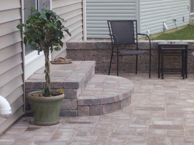 patio stairs backyard patio backyard designs patio design paving