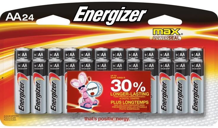 Energizer Max AA Premium Alkaline Batteries (24-Pack), No Leaks - Guaranteed or  #Energizer